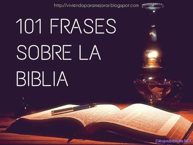 101 Frases Sobre La Biblia
