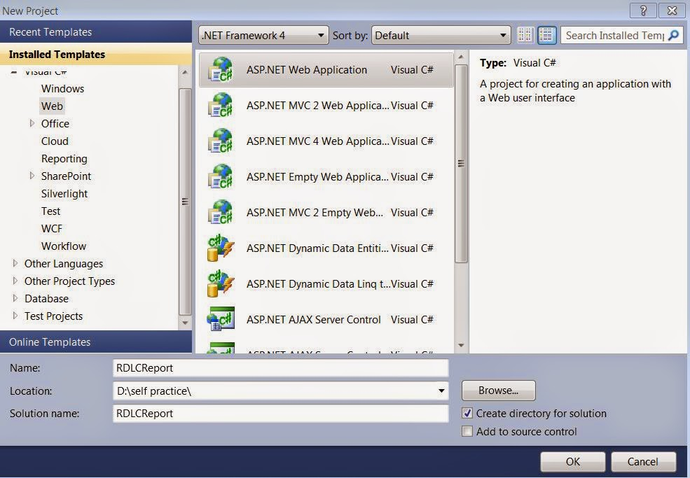 Create RDLC Reports Using Report Viewer in C# - how to create a report