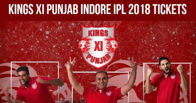 Kings XI Punjab Ticket Booking Holkar Stadium, Indore: Cost and Price List: IPL 2018