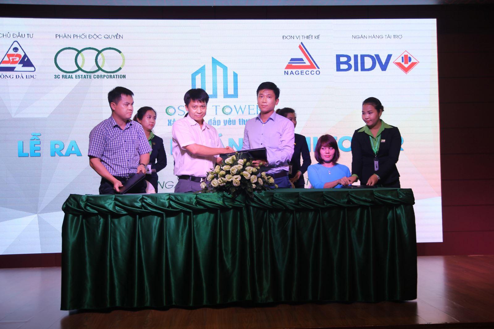 Lễ ký kết giữa Chủ đầu tư và Ngân hàng Bảo Lãnh