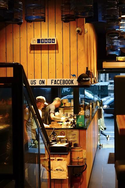 Le Chameau Bleu - Cuisine du Shiso Burger