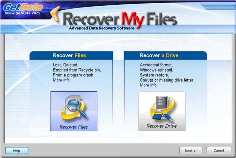 تحميل برنامج استعادة الملفات المحذوفة Recover My Files للكمبيوتر
