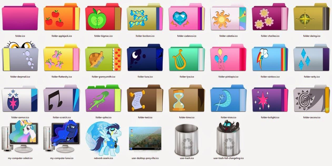 غير شكل ايقوناتك في الويندوز إلى العديد من الايقونات الجميلة مع برنامج  Folderico