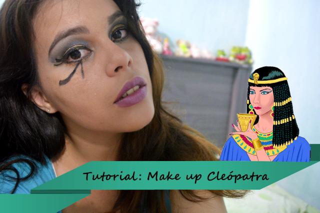 makeup cleópatra