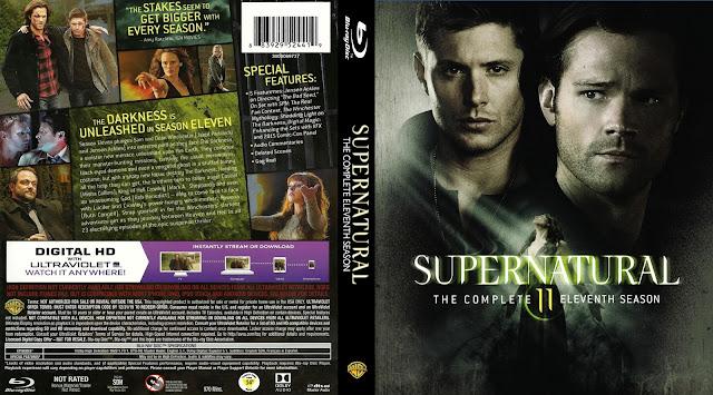 Supernatural Season 11 Bluray Cover