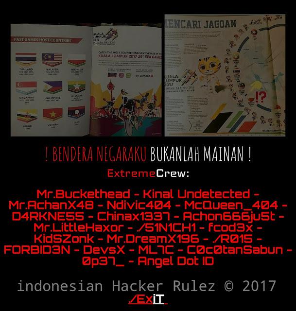 Peretas Indonesia Serang website Malaysia