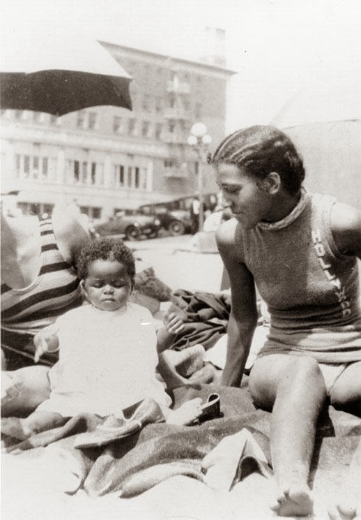 Vintage Photos Of The Ink Well Santa Monica Beach During
