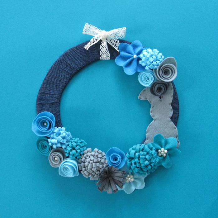 Valentina Vaguada: Easter/Sping, craft, DIY, easter, pascua, manualidades, felt flowers, flores de fieltro
