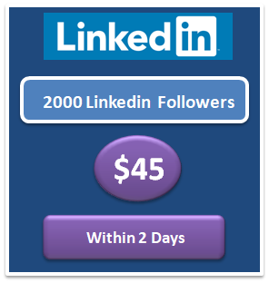 2000 free Linkedin followers bot