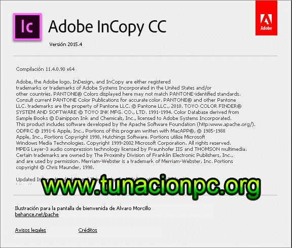 Adobe InCopy CC 2015 con licencia