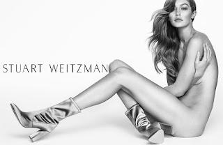 Gigi Hadid Stuart Weitzman