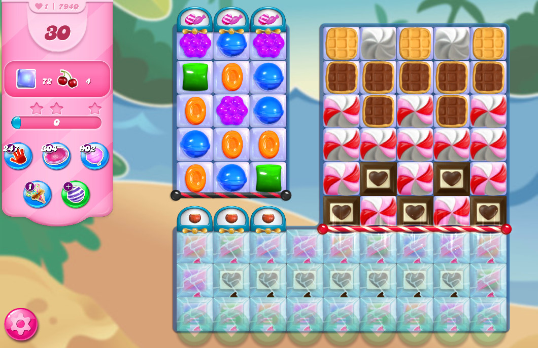 Candy Crush Saga level 7940