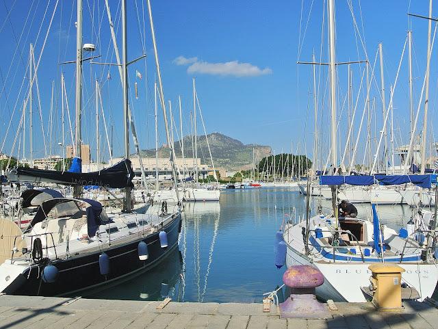 Port jachtowy Palermo, Włochy, Sycylia