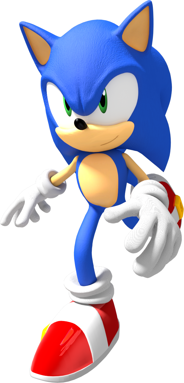 Thomas Dafoe Studios: Sonic the Hedgehog PNG Pack