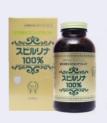 Tảo Spirulina Nhật bản tăng cân, làm đẹp hiệu quả