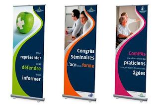 Banner adalah salah satu media promosi yang dicetak dengan Print Digital yang umumnya berbentuk Potrait atau Vertikal.