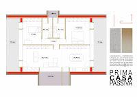 Planimetria di Prima Casa Passiva di 100 mq al costo di 1.000,00€ al mq