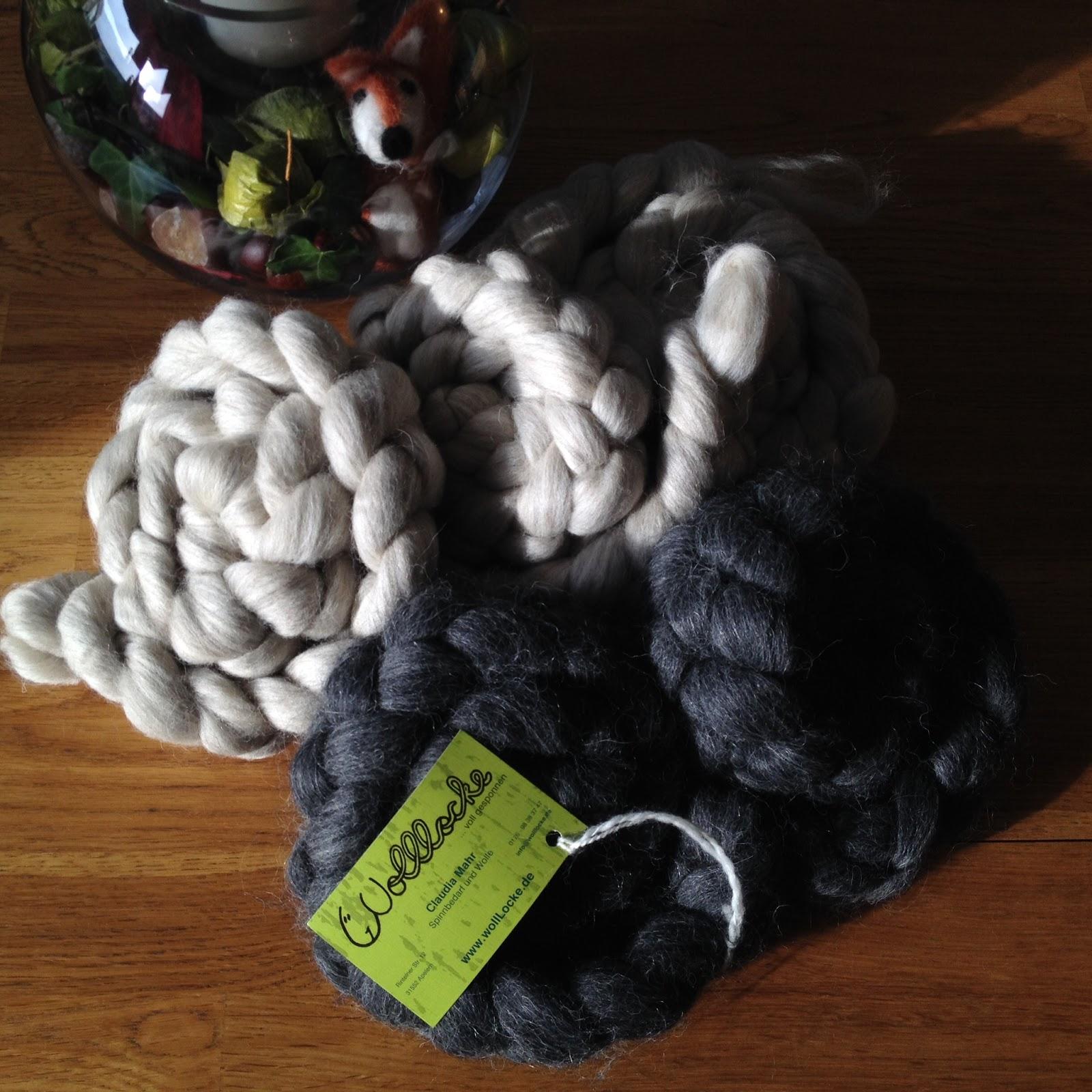 Polarfuchs und Alpaka von WollLocke