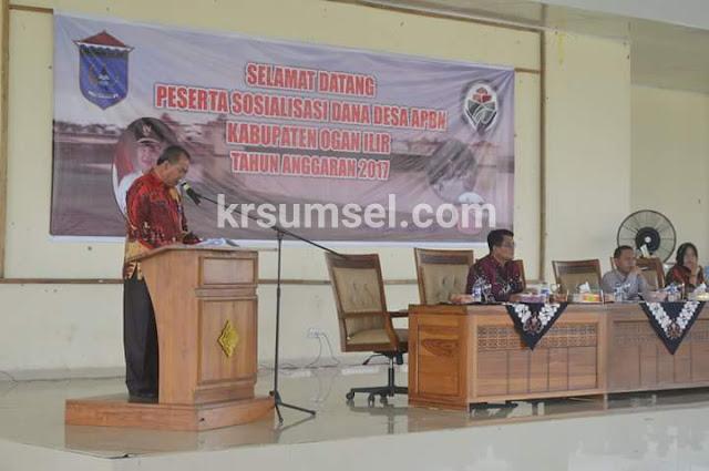 DPMD OI gelar Sosialisasi Dana Desa