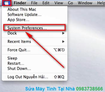 Hướng dẫn thay đổi mật khẩu trong Mac OS X