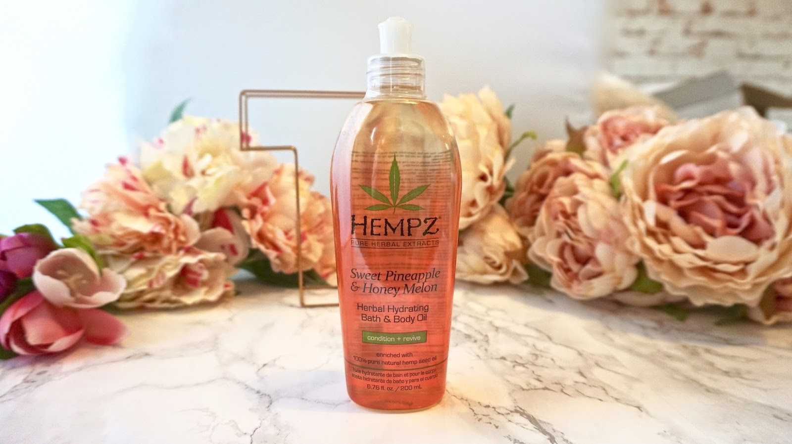 Hempz Sweet Pineapple & Honey Melon Bath & Body Oil