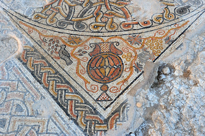 Byzantine mosaic unearthed in southern Israel