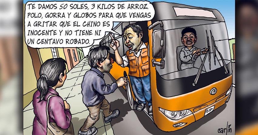 Carlincaturas Sábado 13 Enero 2018 - La República