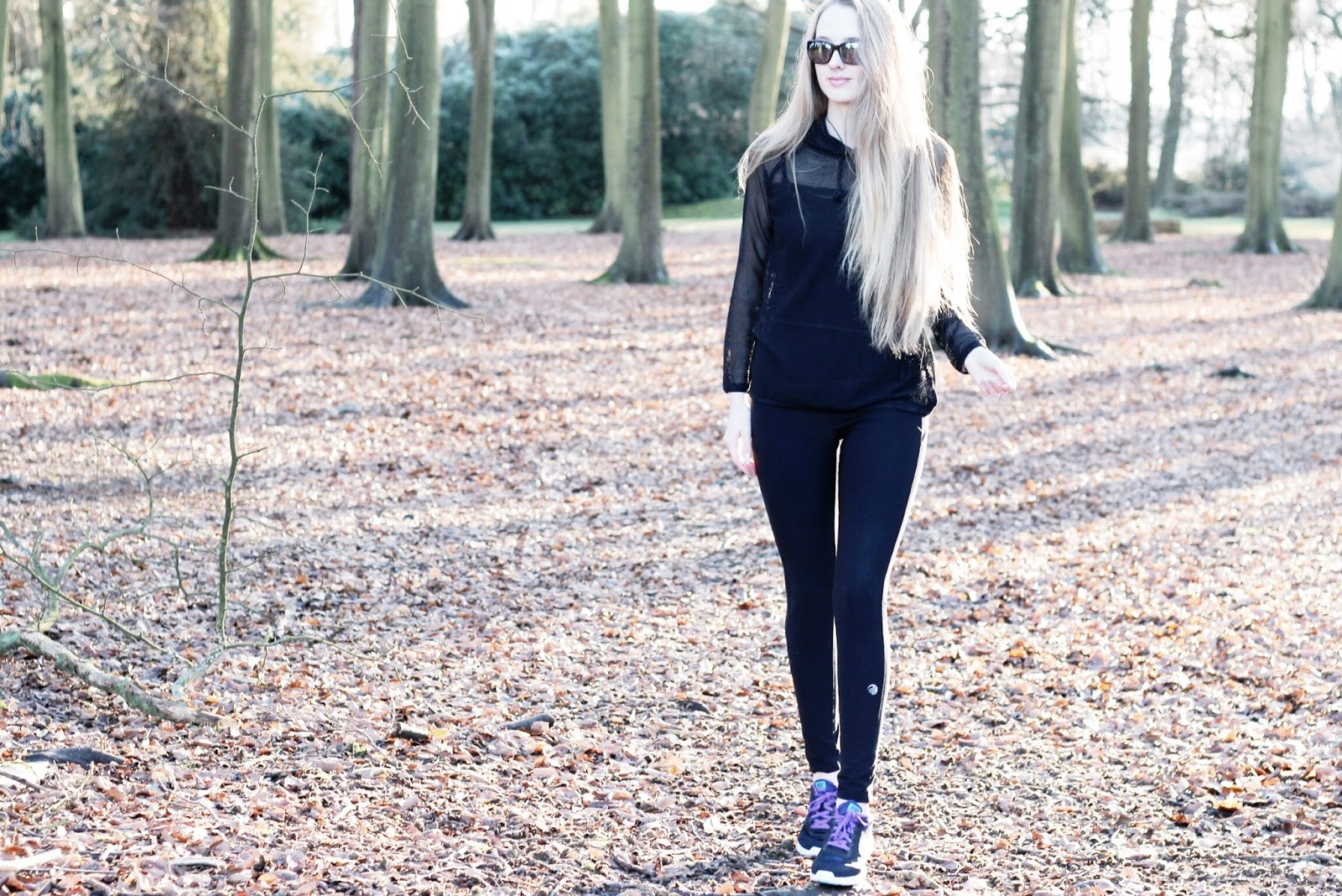 UK fitness blogger benefits of walking