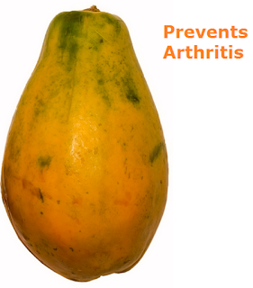 Health Benefits of Papaya - Paw paw Prevents Arthritis