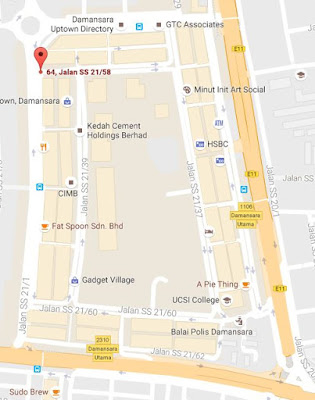Nasi Kandar Salam Restaurant location map