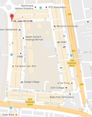 Nasi Kandar Salam Restaurant location map