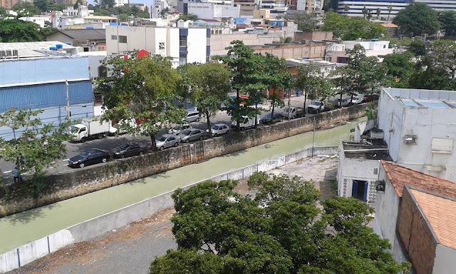 Crimes ambientais cometidos diariamente no Rio Lucaia