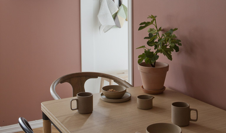 Osare con le pareti rosa