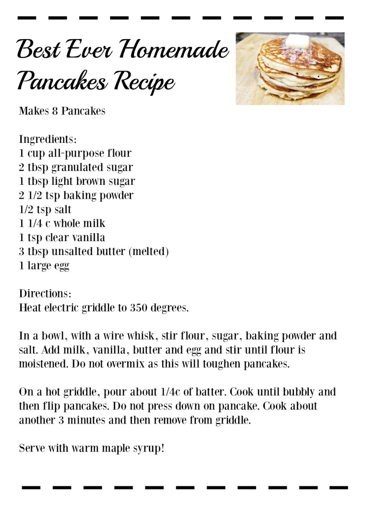 How Do You Make Pancakes From A Cake Mix