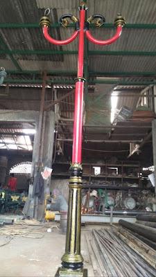 tiang lampu antik