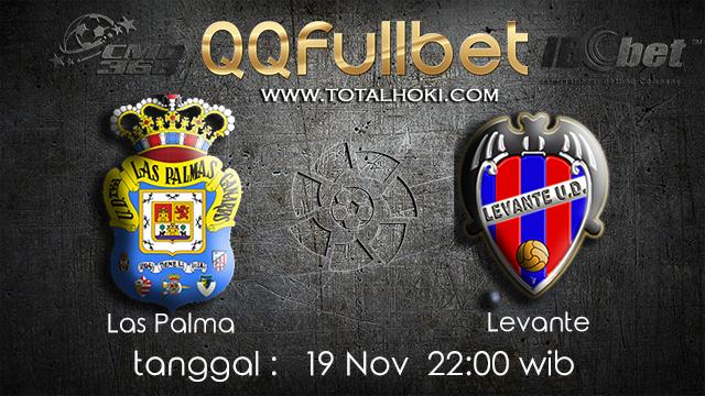 PREDIKSI BOLA ~ PREDIKSI TARUHAN LAS PAMAS VS LELVANTE 19 November 2017 (Spanish La Liga)