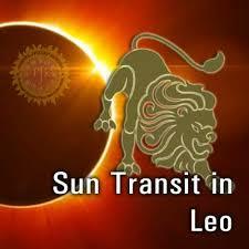Sun Enters in Leo