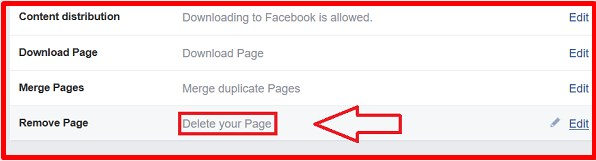 how to delete facebook fan page permanently