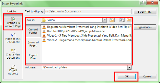 Cara Membuat Presentasi di Power Point: Dengan Hyperlink