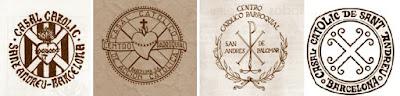 Emblemas del Casal Catòlic de Sant Andreu
