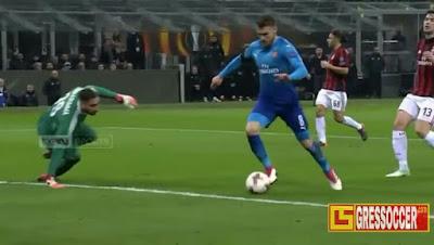 Hasil Pertandingan AC Milan Vs Arsenal tadi malam