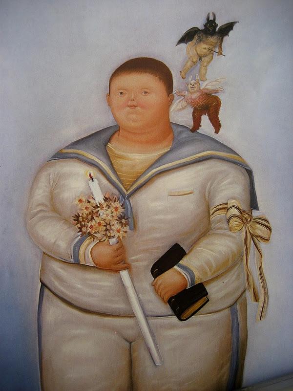 Pintura Moderna Y Fotografía Artística Fernando Botero Y Sus Pinturas Famosas