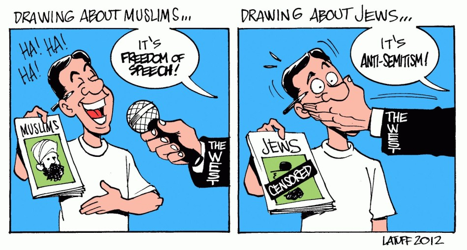 """Charlie Hebdo: """"Free Speech Is Cherished As Long As It's Not 'Anti-Semitic', Real Or Perceived."""""""