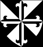 P-040 - Nuestra Señora de la Peña de Francia (Salamanca)(R. M. PFV Peña de Francia 1) 545px-Shield_of_Domincan_Order_svg