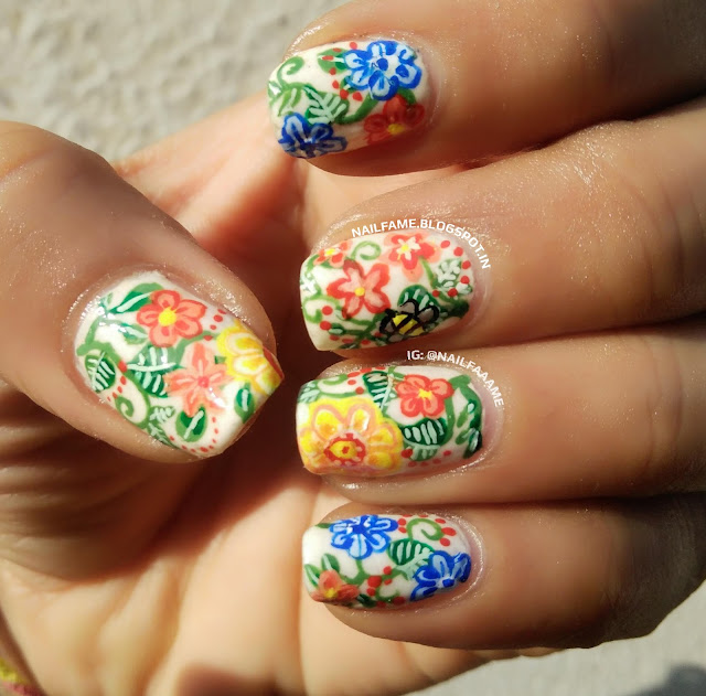 EARTH DAY NAILART