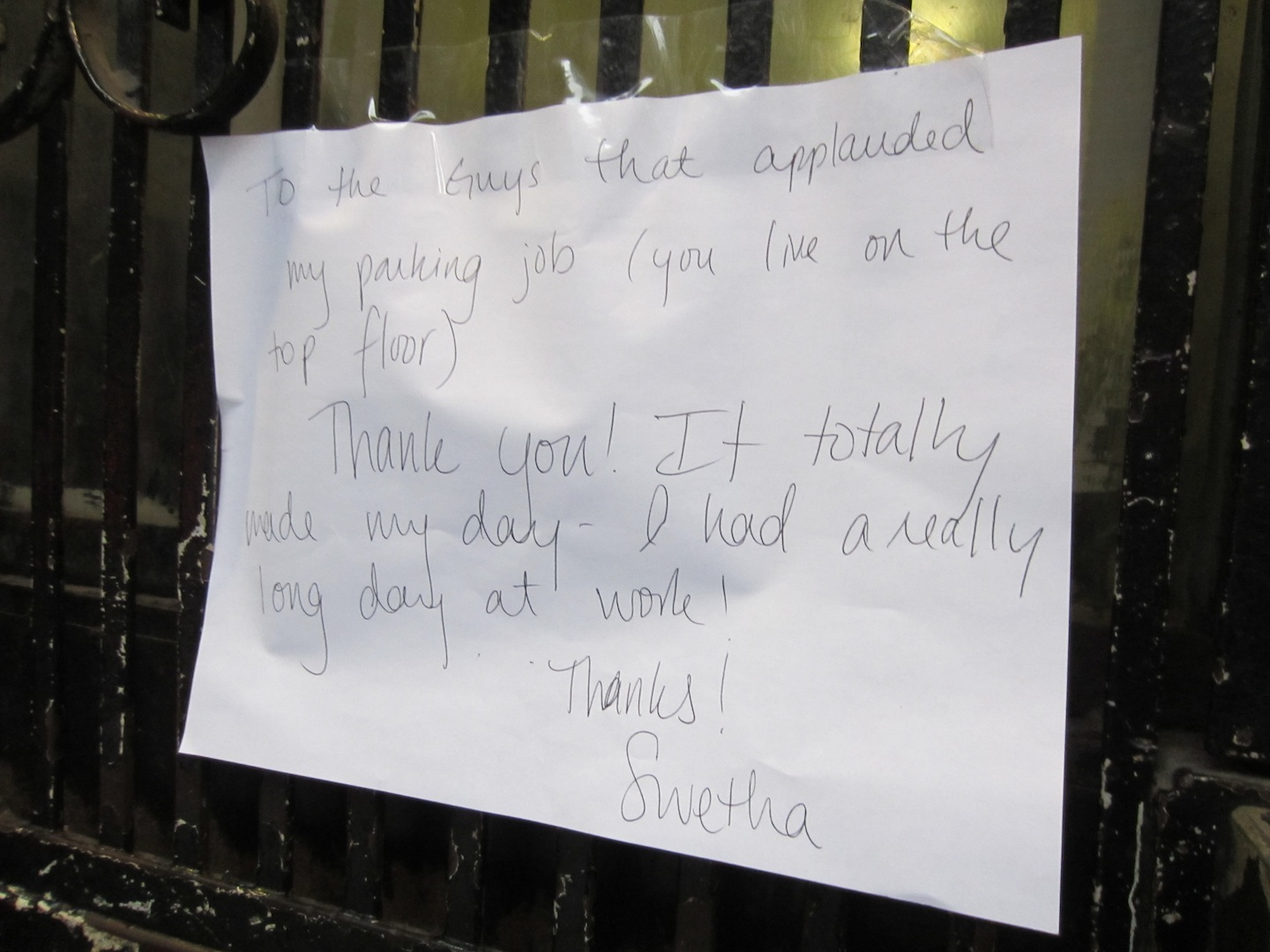 EV Grieve: Today in passive-aggressive notes on East Fourth