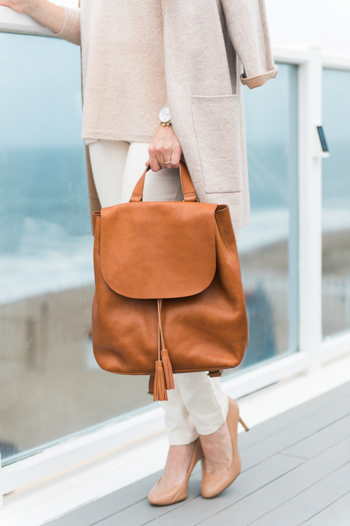 J.Jill leather backpack