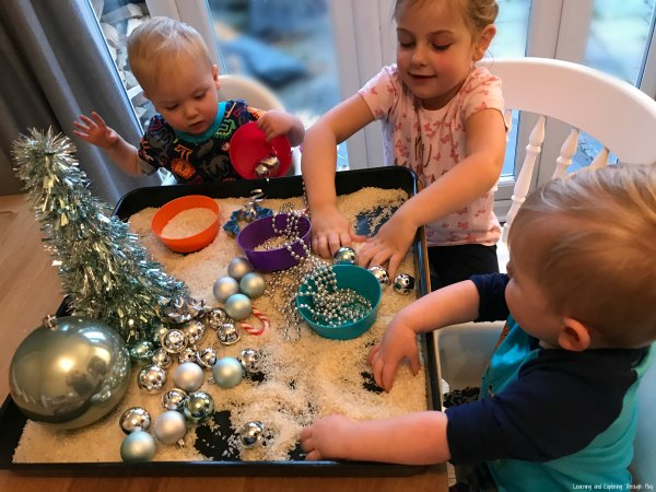 Christmas Sensory Tray