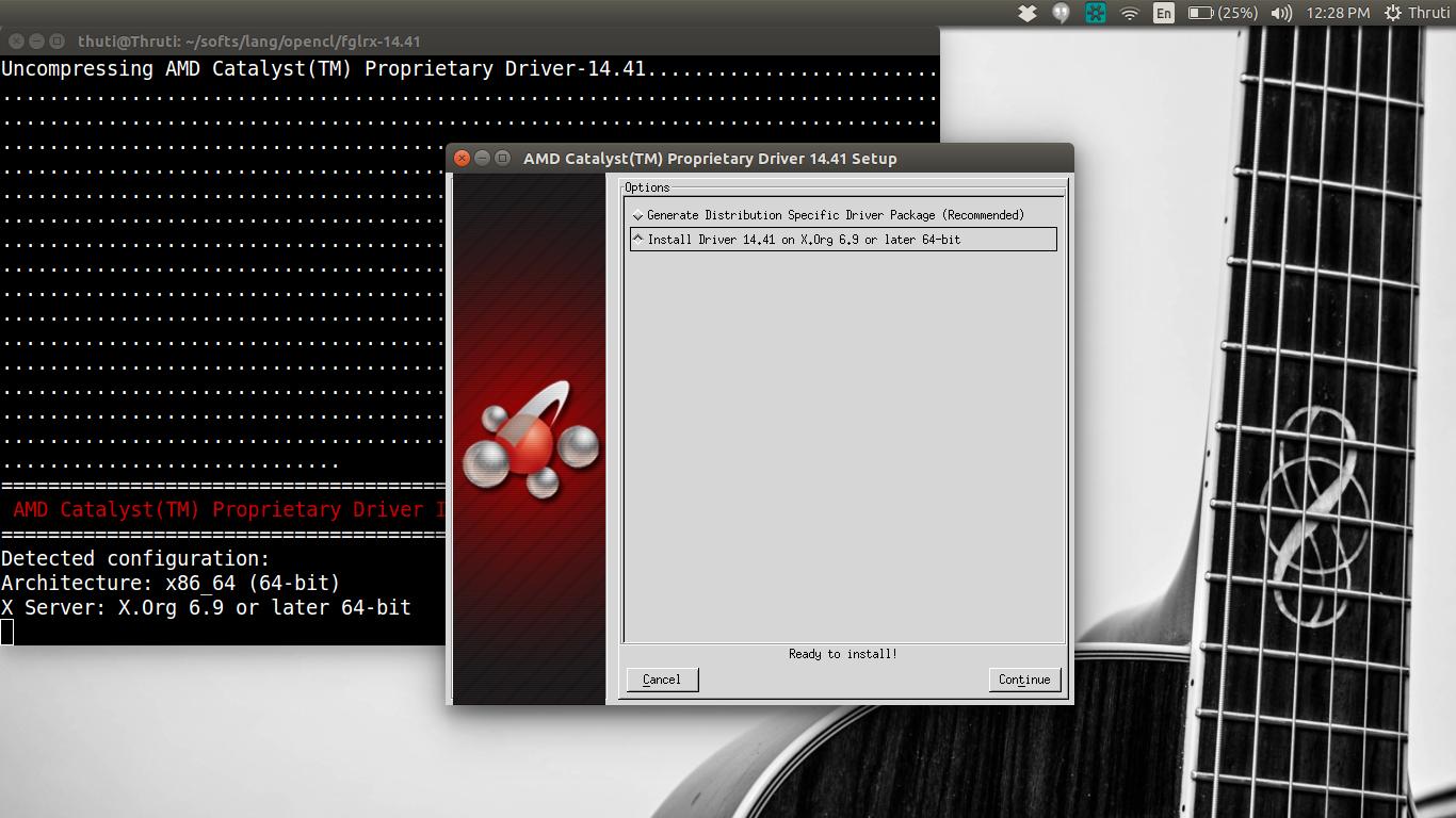 Open the - Open CL : Setting up OpenCL on Ubuntu 14 04 & AMD