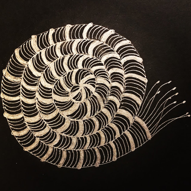 Zentangle- Silk cord